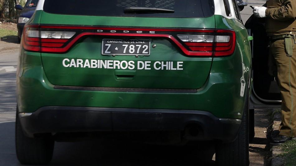 Detienen a hombre por el femicidio frustrado de su expareja en la comuna de Santiago