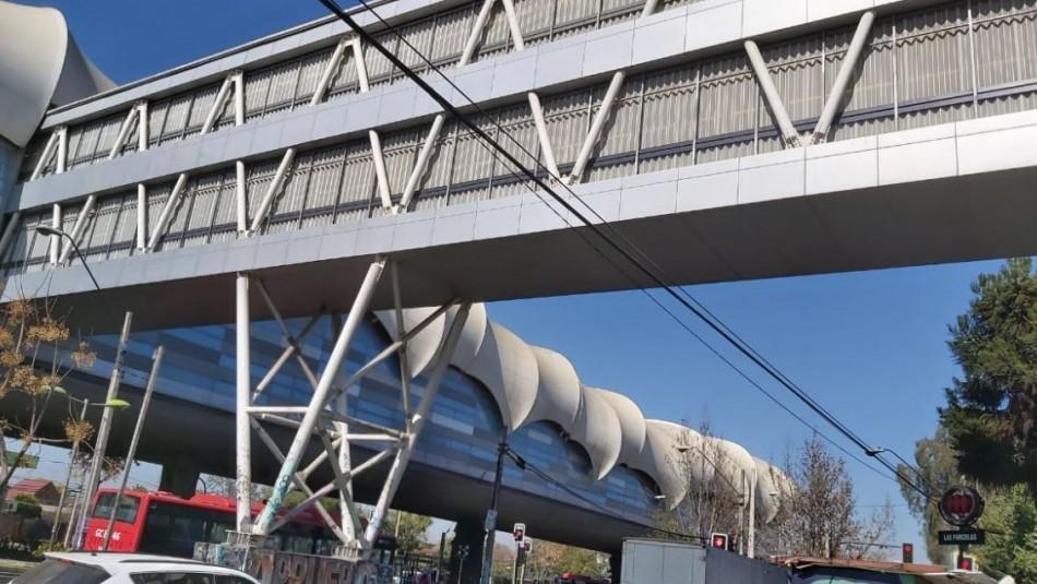 Estación Las Parcelas del Metro reabrirá sus puertas este lunes: No contará con ascensores