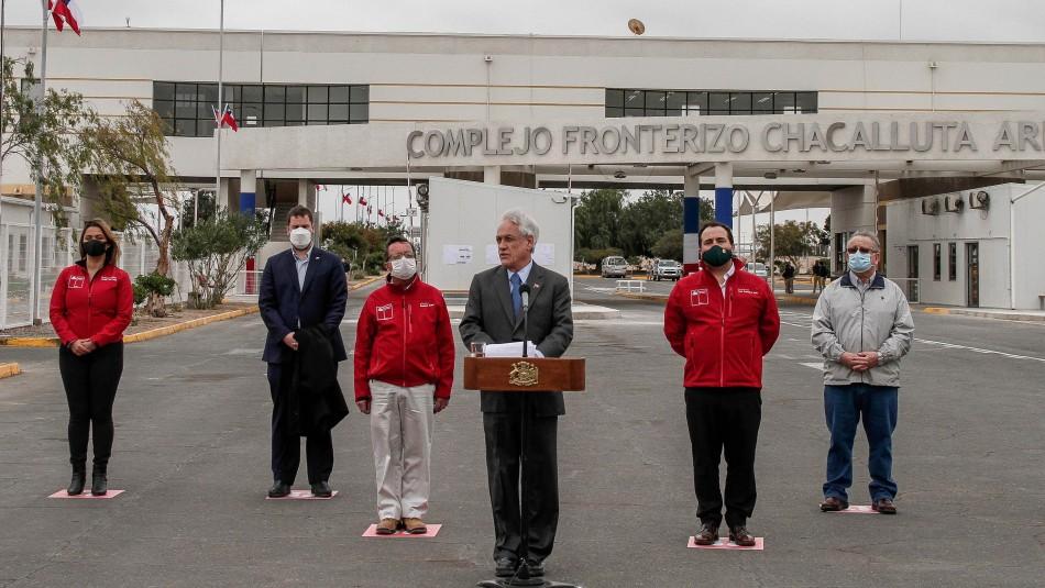 Presidente Piñera por indicaciones en Ley de Migración: