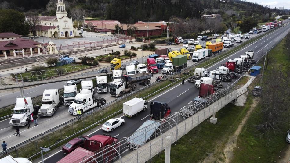Presidente Piñera y paro de camioneros: