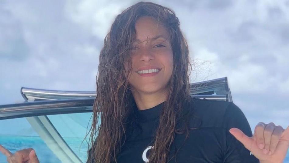 Las fotos de Shakira, Piqué y sus hijos en la playa que enloquecieron las redes