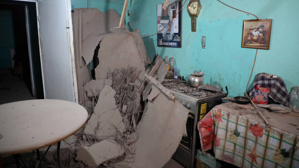 Imágenes revelan el daño que provocaron los temblores en Copiapó