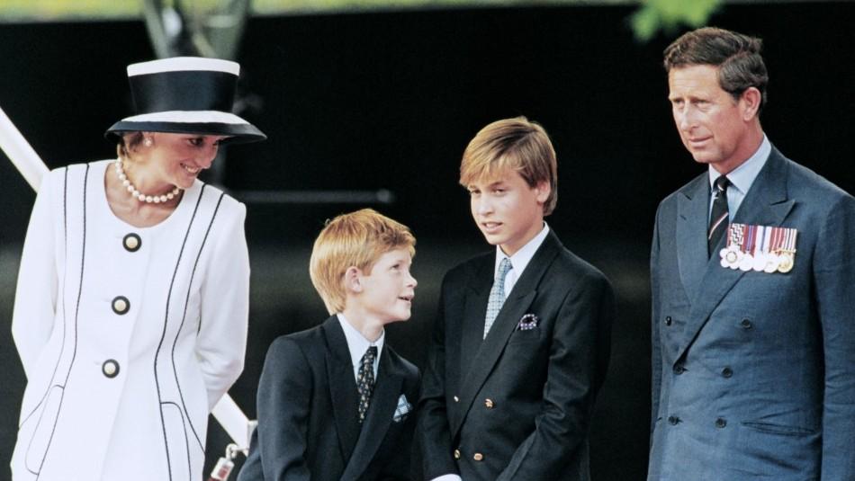 Así fue la última llamada de Diana de Gales a los Príncipes William y Harry antes de su muerte