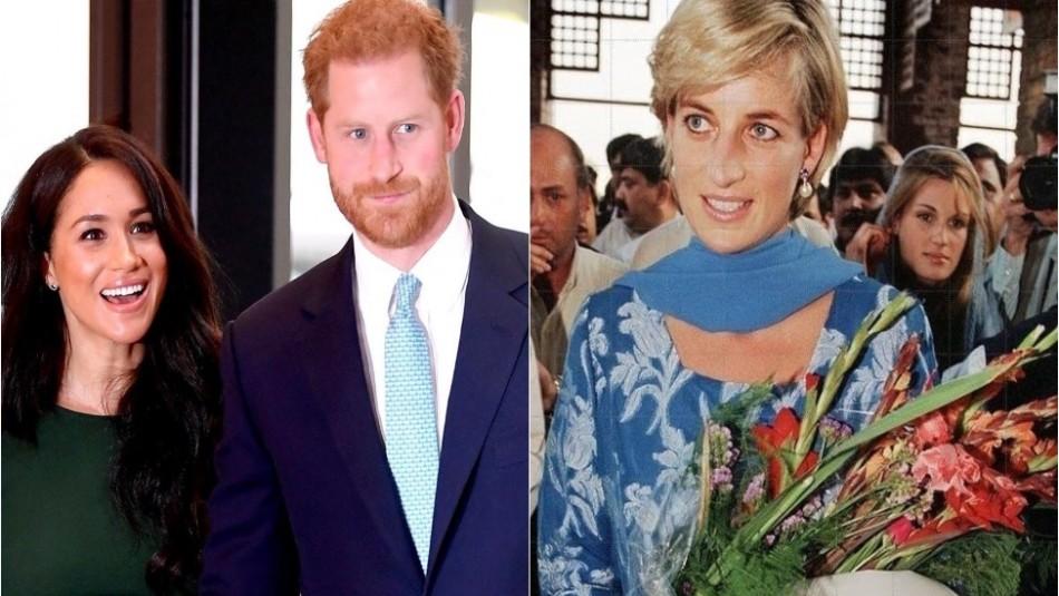 Harry no olvida a su madre Diana de Gales: Junto a Meghan Markle siembra sus flores favoritas