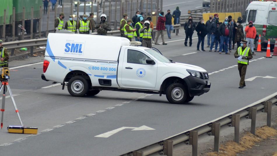 Muerte de camionero en Ruta 5: Informe descartaría responsabilidad de conductor de máquina