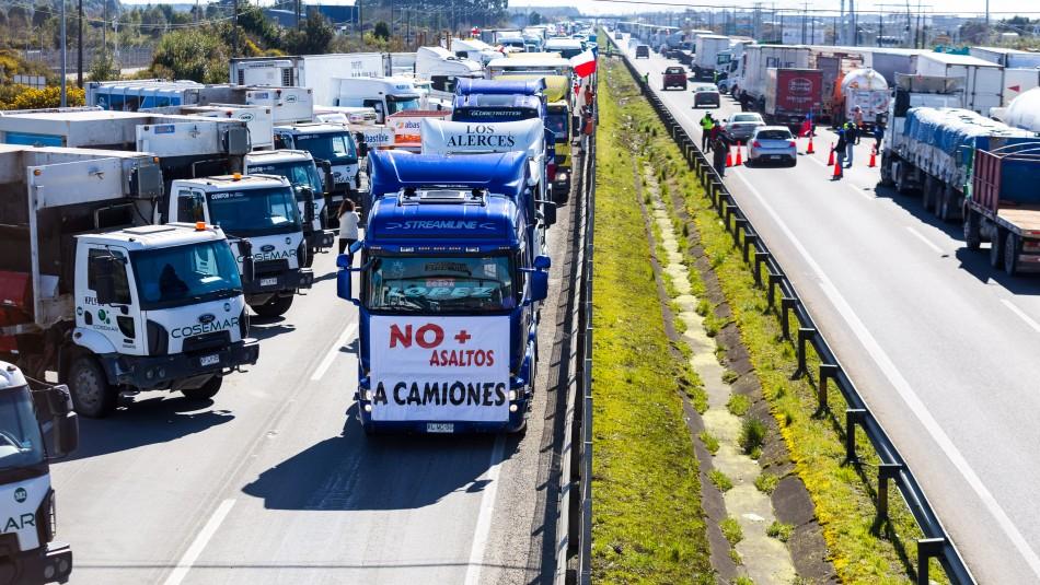 Walker y desabastecimiento por paro de camioneros: