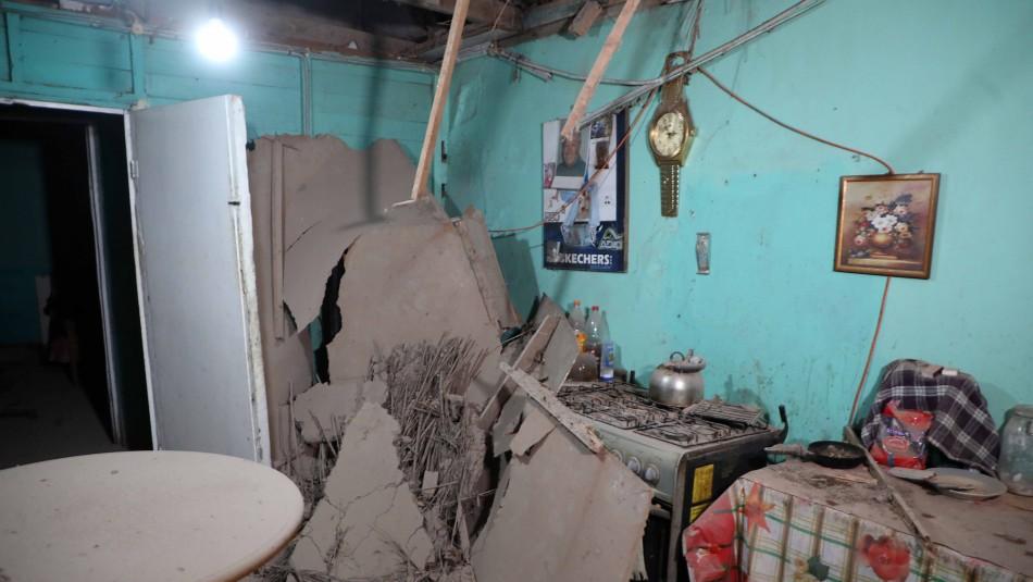 Temblor magnitud 7.0 afectó a la zona norte del país