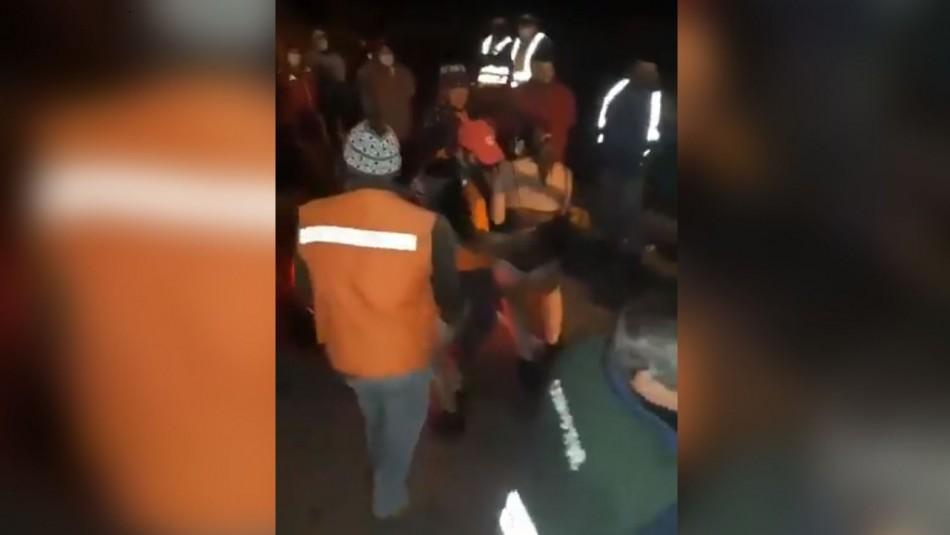 Polémica por video de camioneros con mujeres semidesnudas: Gobierno se querella