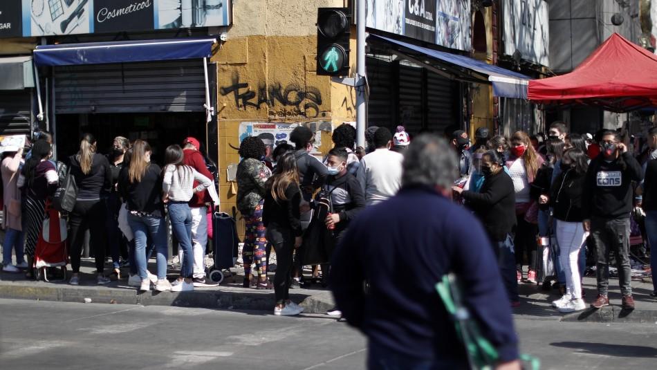 Locatarios de Barrio Meiggs temen rebrote por constantes aglomeraciones