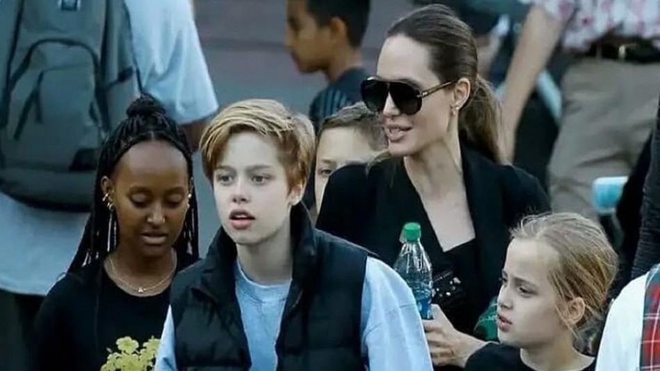 Las fotos de Shiloh Jolie Pitt junto a sus hermanos que confirman su nuevo estilo