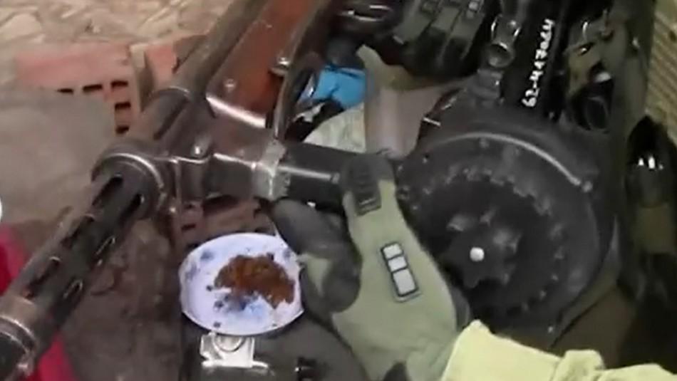 Detienen a narcotraficantes que poseían impactantes armas de fuego
