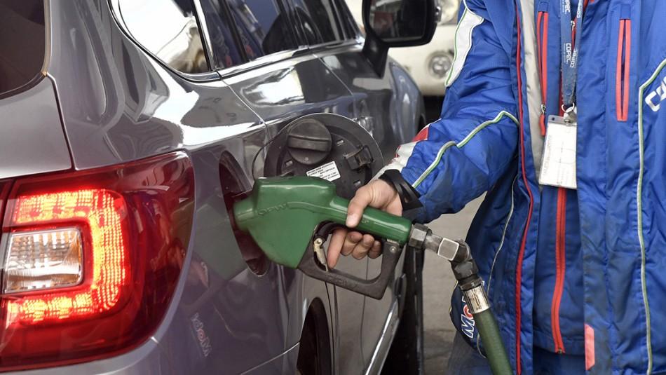 Precios de las bencinas subirán por tercera semana consecutiva desde este jueves