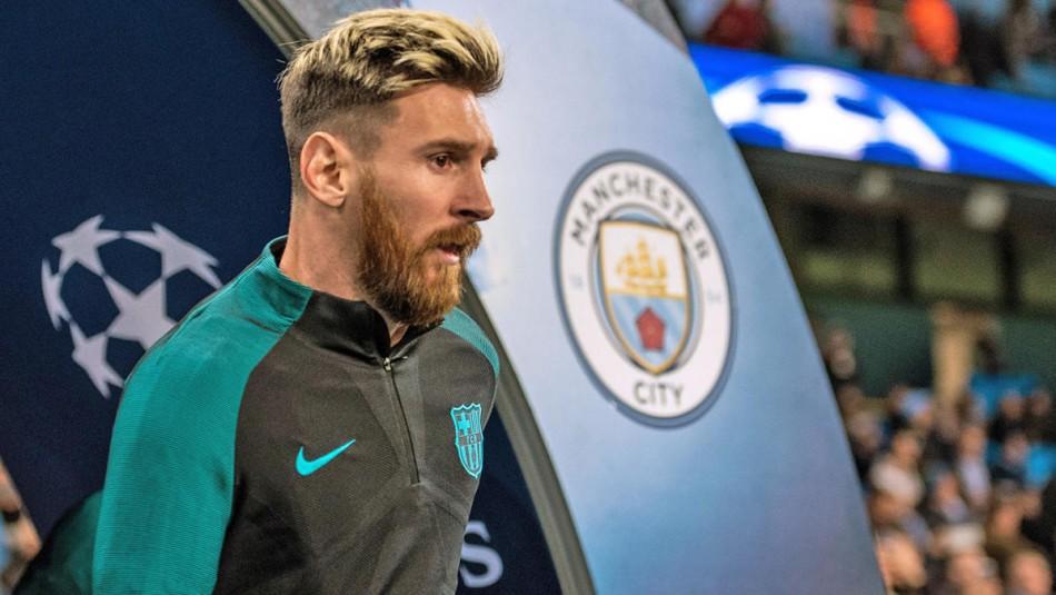 Lionel Messi tendría todo listo para recalar en Manchester City.