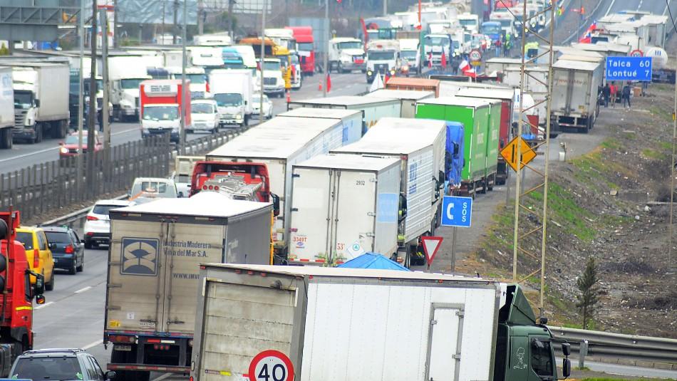 Camioneros y desabastecimiento por paro: