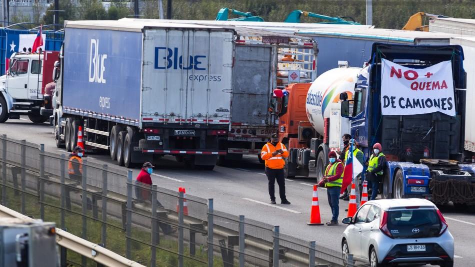 Camioneros en horas clave: Necesitamos que el Gobierno diga que va a cumplir con lo que pedimos