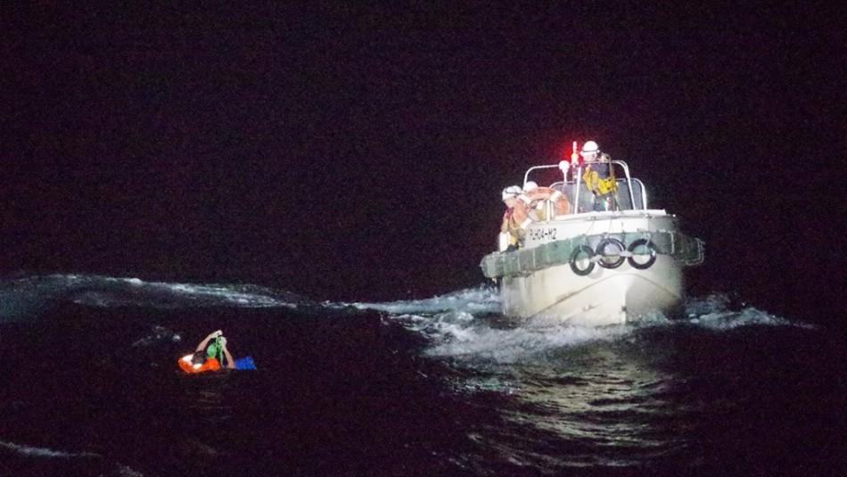 Buque se hunde con 43 personas y 6.000 vacas a bordo cerca de las costas de Japón