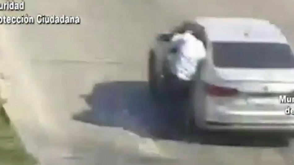 Delincuente chileno arrastra por 50 metros a un hombre en violento asalto en Argentina