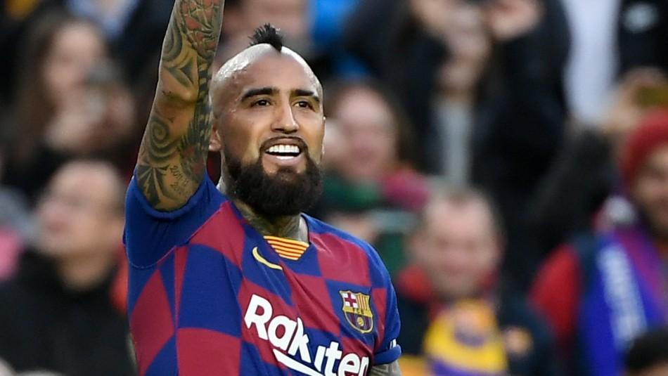 Arturo Vidal deja el Barcelona.
