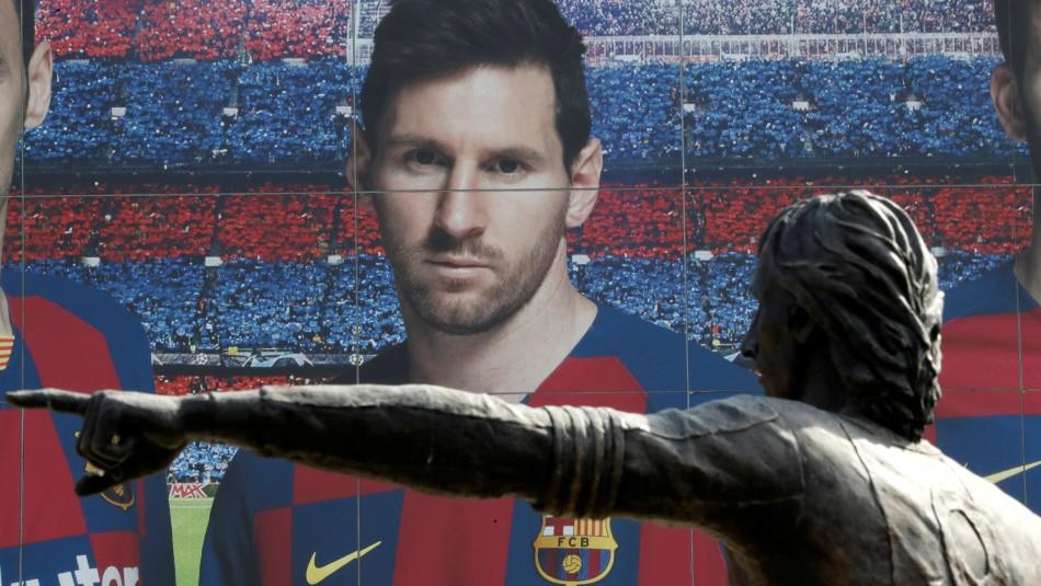 La curiosa campaña por Lionel Messi.