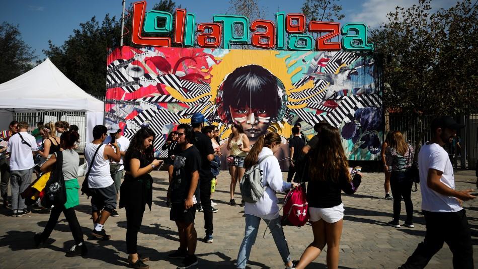 Lollapalooza Chile se reprograma para noviembre del próximo año