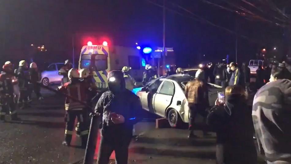 Mujer fallece tras chocar contra poste de alambrado público en Puerto Montt