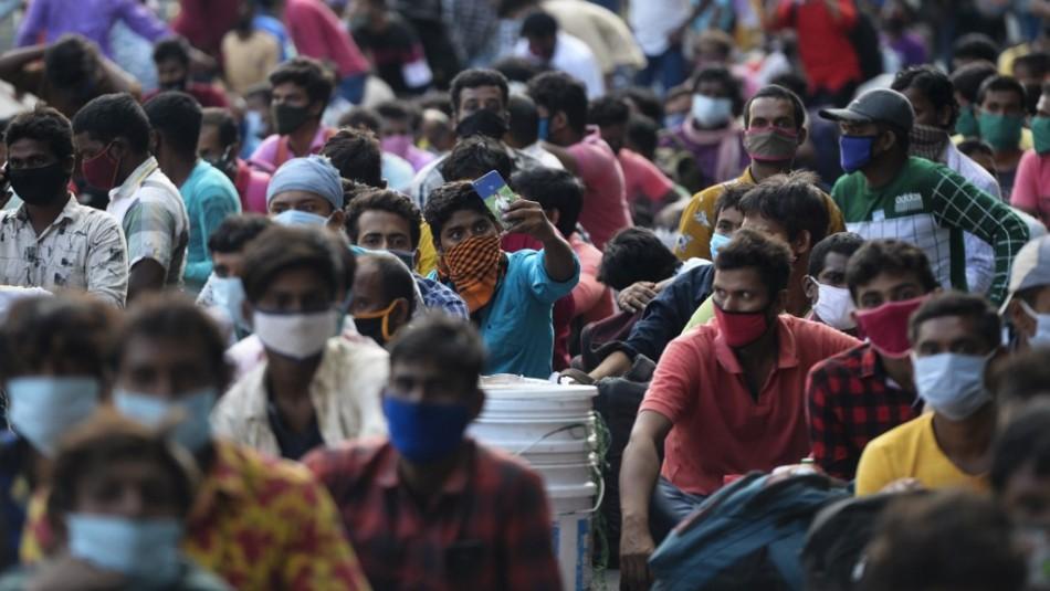 India se convierte en el tercer país con más de 4 millones de casos de coronarivus