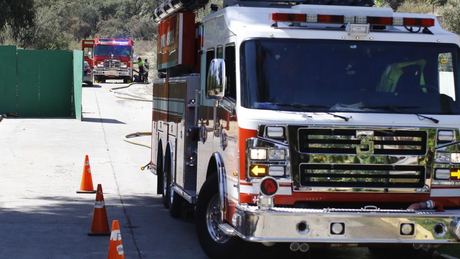 Sin lesiones fue rescatada familia que se desorientó al llegar a la cima del Cerro Manquehue
