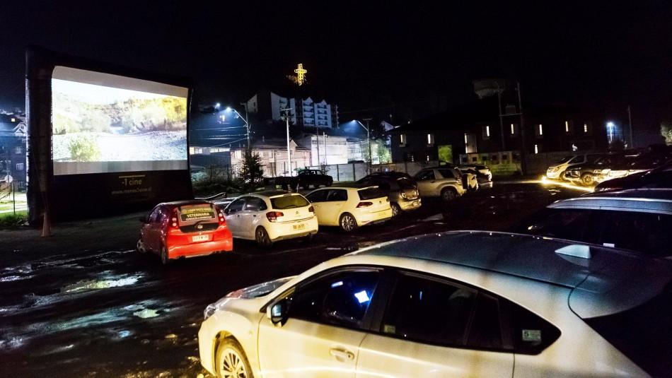 Puerto Varas inauguró el primer Autocinema del sur del país