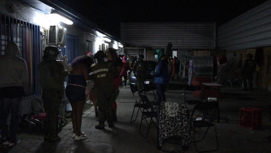 17 detenidos por participar en fiesta clandestina en un cité de Renca