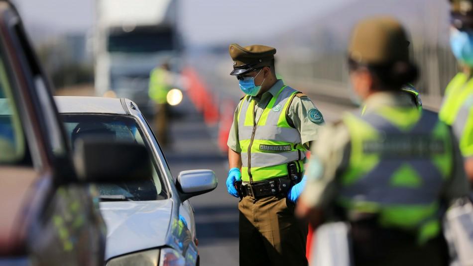 Carabineros informó que hubo más de 2.500 detenidos en el país durante las últimas 24 horas
