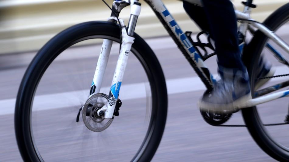 Alertan sobre masivo robo de bicicletas en Santiago