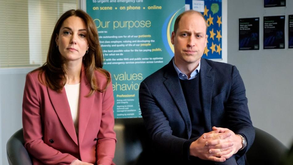 Descubren un cadáver frente a la residencia del príncipe William y Kate Middleton en Londres