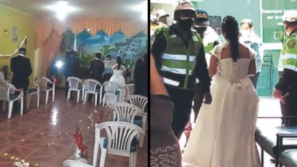 Coronavirus en Perú: Detienen a novios e invitados por matrimonio en plena cuarentena