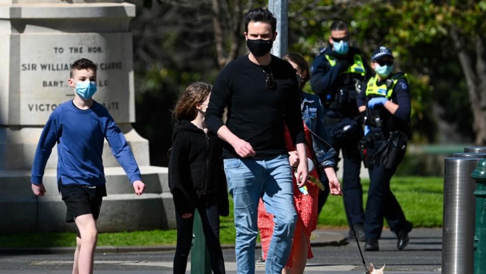 Australia extiende confinamiento de Melbourne pese a caída de casos de coronavirus