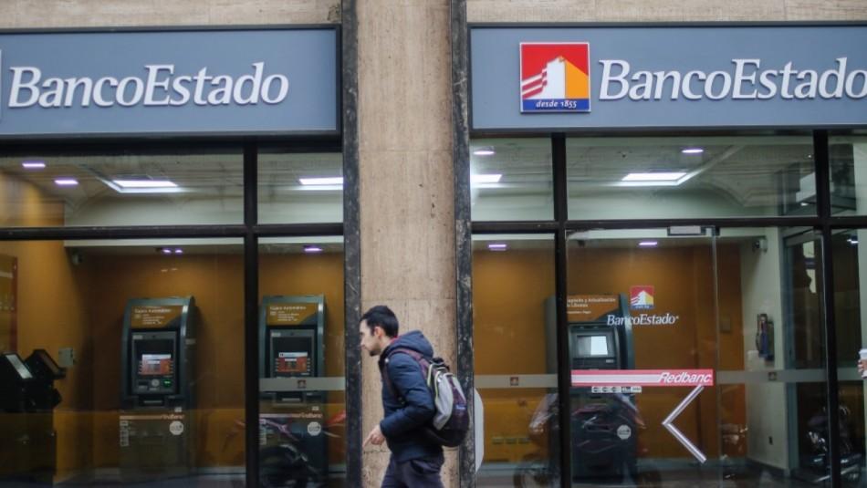 BancoEstado anuncia el cierre de sus sucursales este lunes