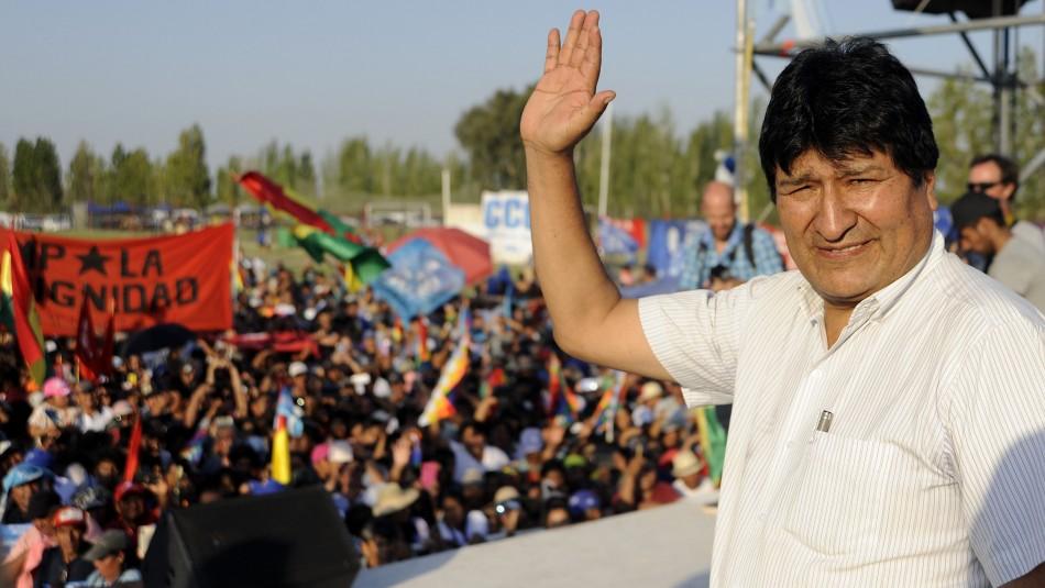 Evo Morales queda inhabilitado para ser candidato al Senado de Bolivia