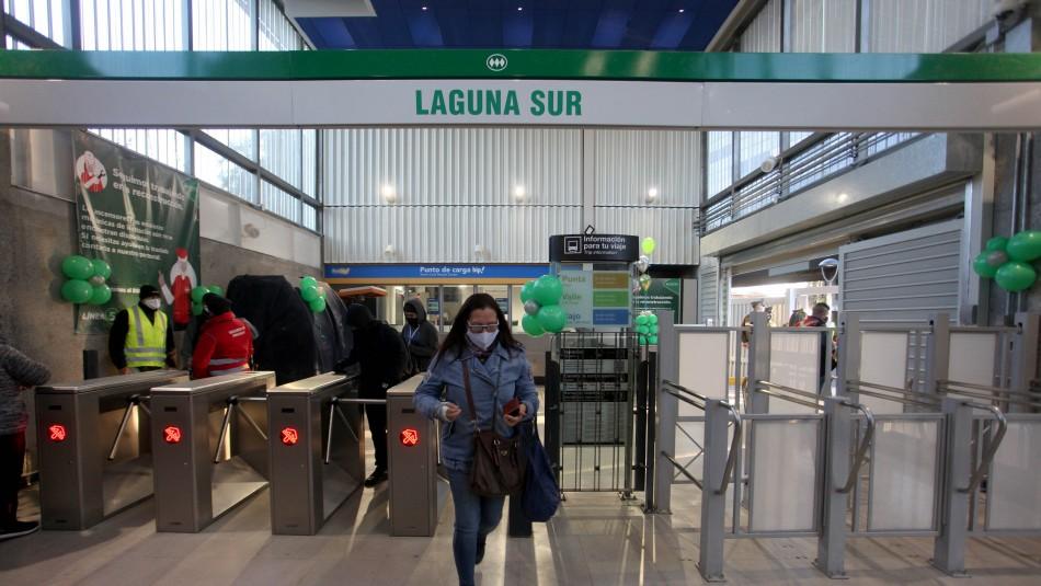 Metro reabre Laguna Sur y Línea 5 queda con todas sus estaciones habilitadas