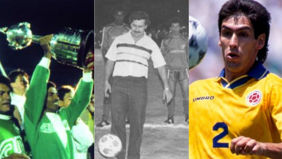 Pablo Escobar y su nexo con el fútbol.