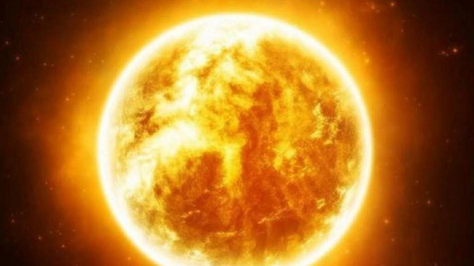 Increíbles imágenes del sol.