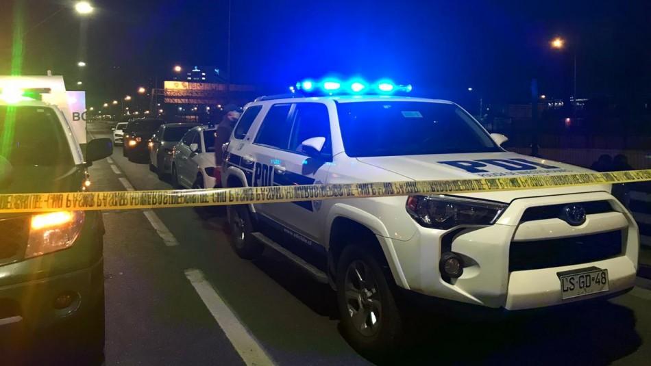Delincuente fallece tras recibir disparo de PDI en intento de encerrona