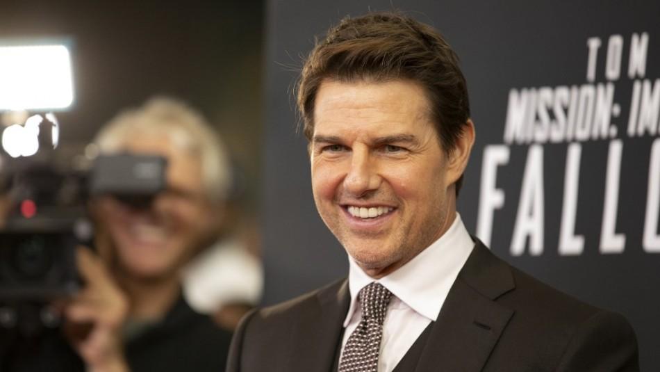 Sin dobles de acción: La impresionante escena que grabó Tom Cruise para