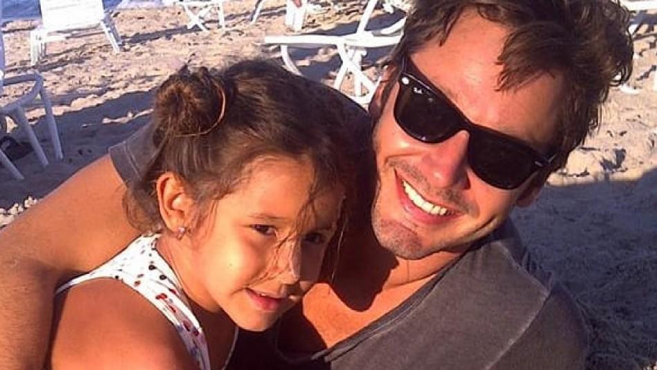 A ocho años de su partida: Benjamín Vicuña publica foto junto a su fallecida hija