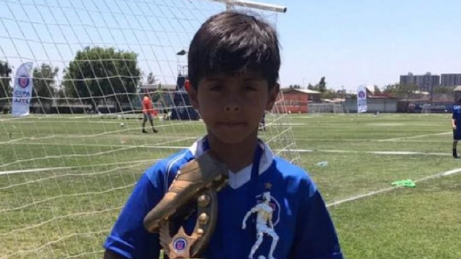 Barcelona ficha a niño chileno tras gran partido donde hizo cinco goles en EEUU