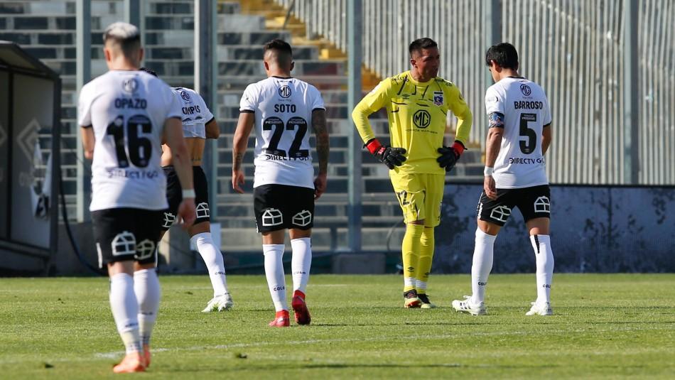 Colo Colo se enreda en el Torneo Nacional.