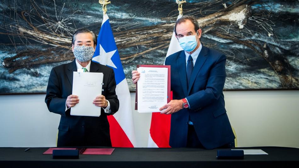 Japón realiza millonaria donación a Chile en equipamiento médico para combatir el coronavirus