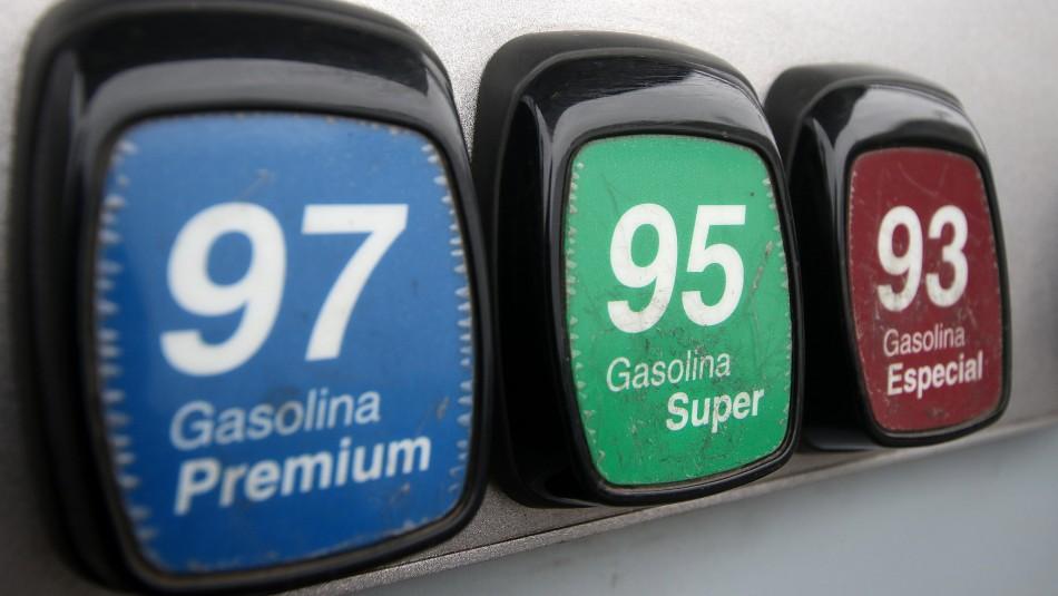 Precios de las bencinas subirán por cuarta semana consecutiva desde este jueves