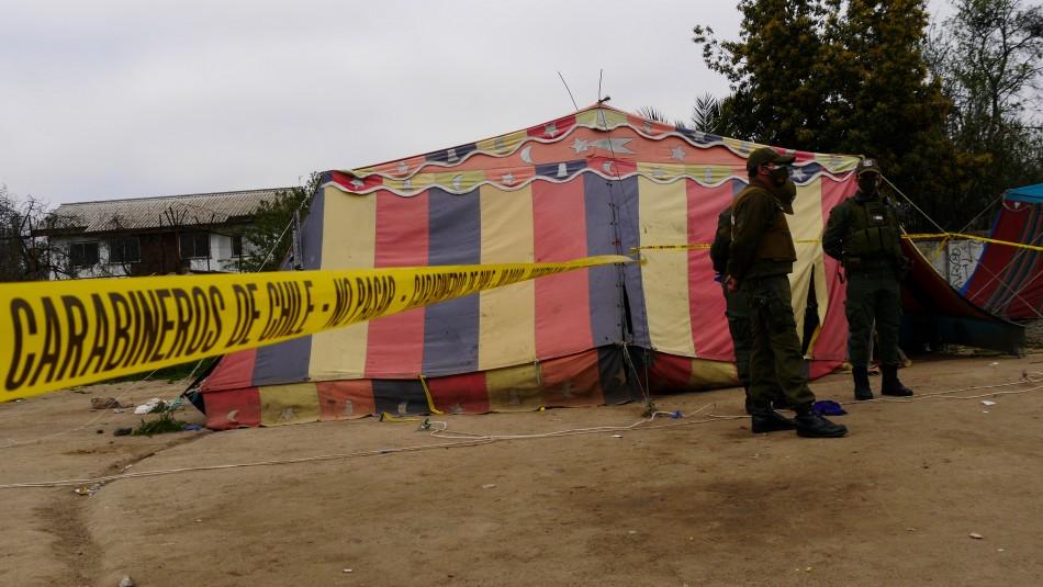 Mujer fue encontrada muerta en campamento gitano.