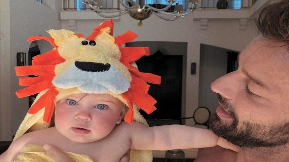 El esposo de Ricky Martin emociona las redes con una nueva foto de su hija Lucía