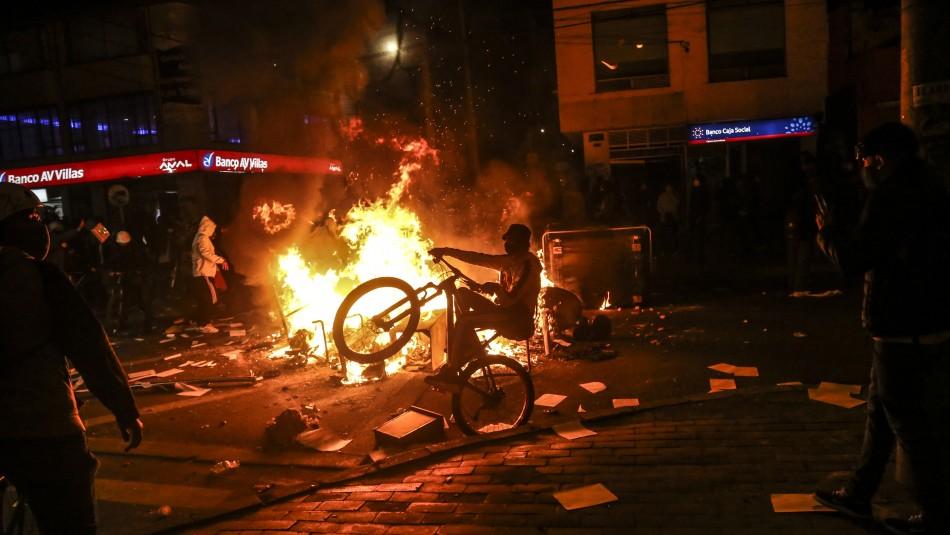 Abuso policial: La razón de las fuertes manifestaciones en Colombia que han dejado 7 fallecidos