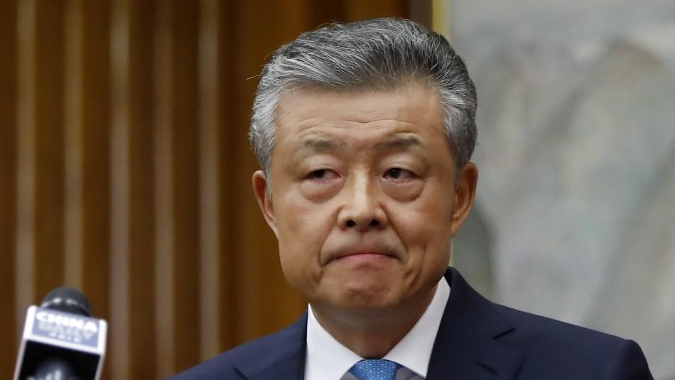 Embajador chino dio